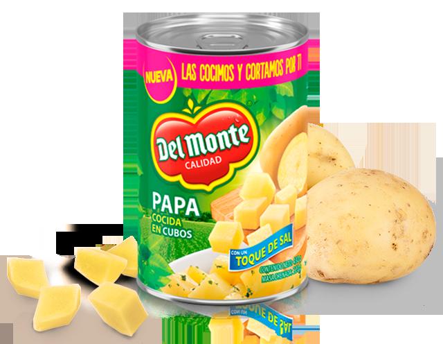 Papa Cocida Del Monte