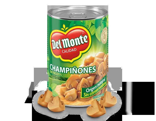 Champiñones en trozos Del Monte