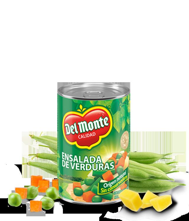 Ensalada de Verduras Del Monte
