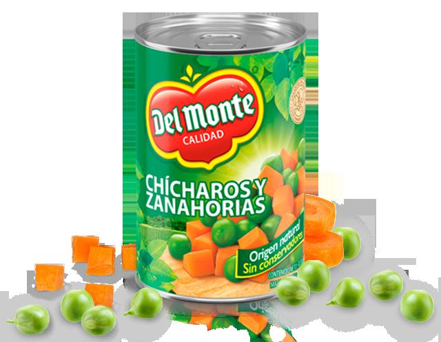 Chícharos y Zanahorias Del Monte