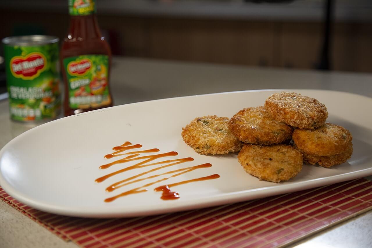 Nuggets de verduras Del Monte