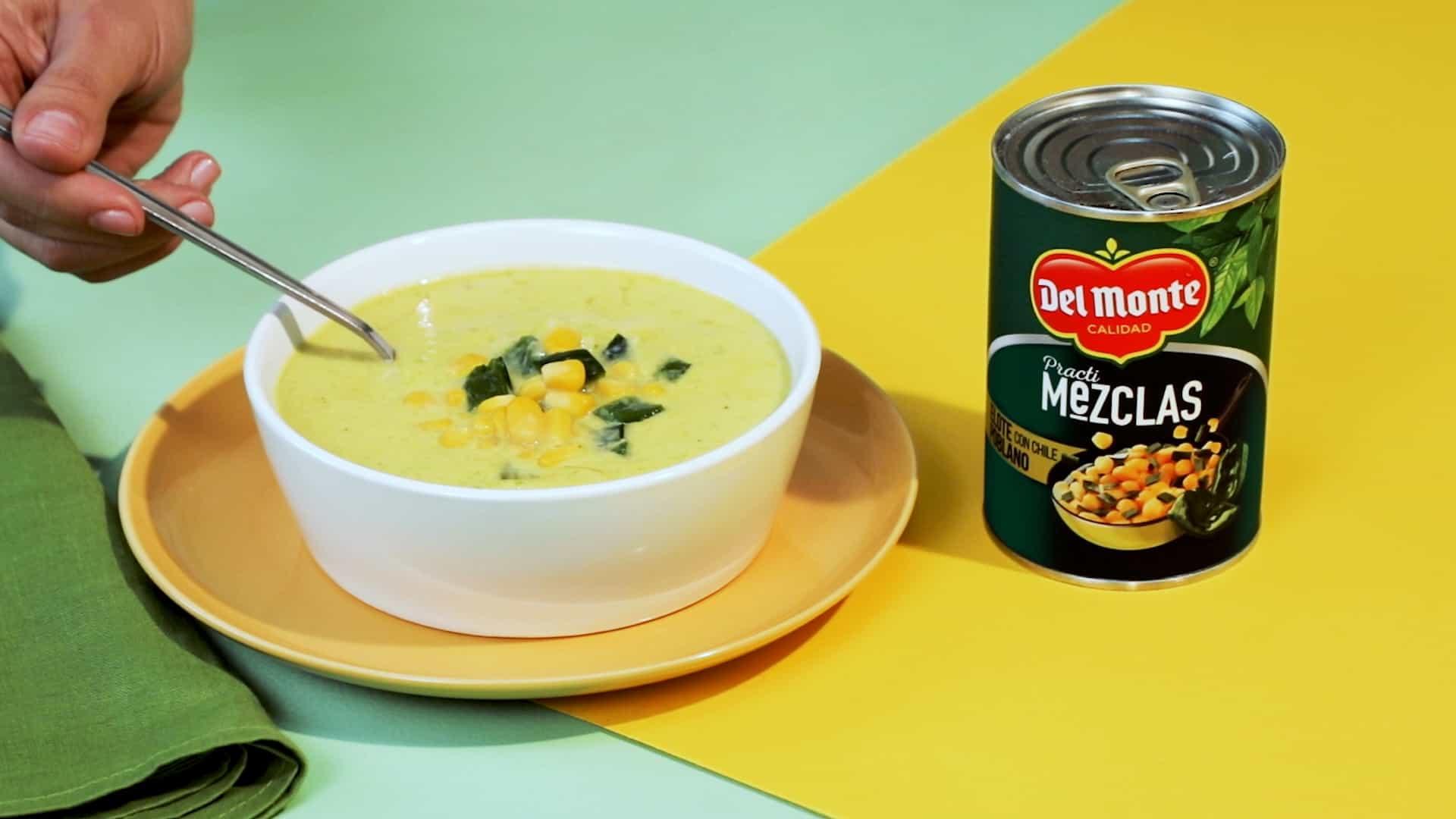 Deliciosa receta de sopa poblana